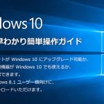 マイクロソフト公式のWindows 10の互換性&早わかりガイドをチェックしよう
